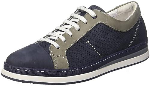 IGI&CO UKT 11277, Sneaker a Collo Alto Uomo, Blu (Azzurro) (40)