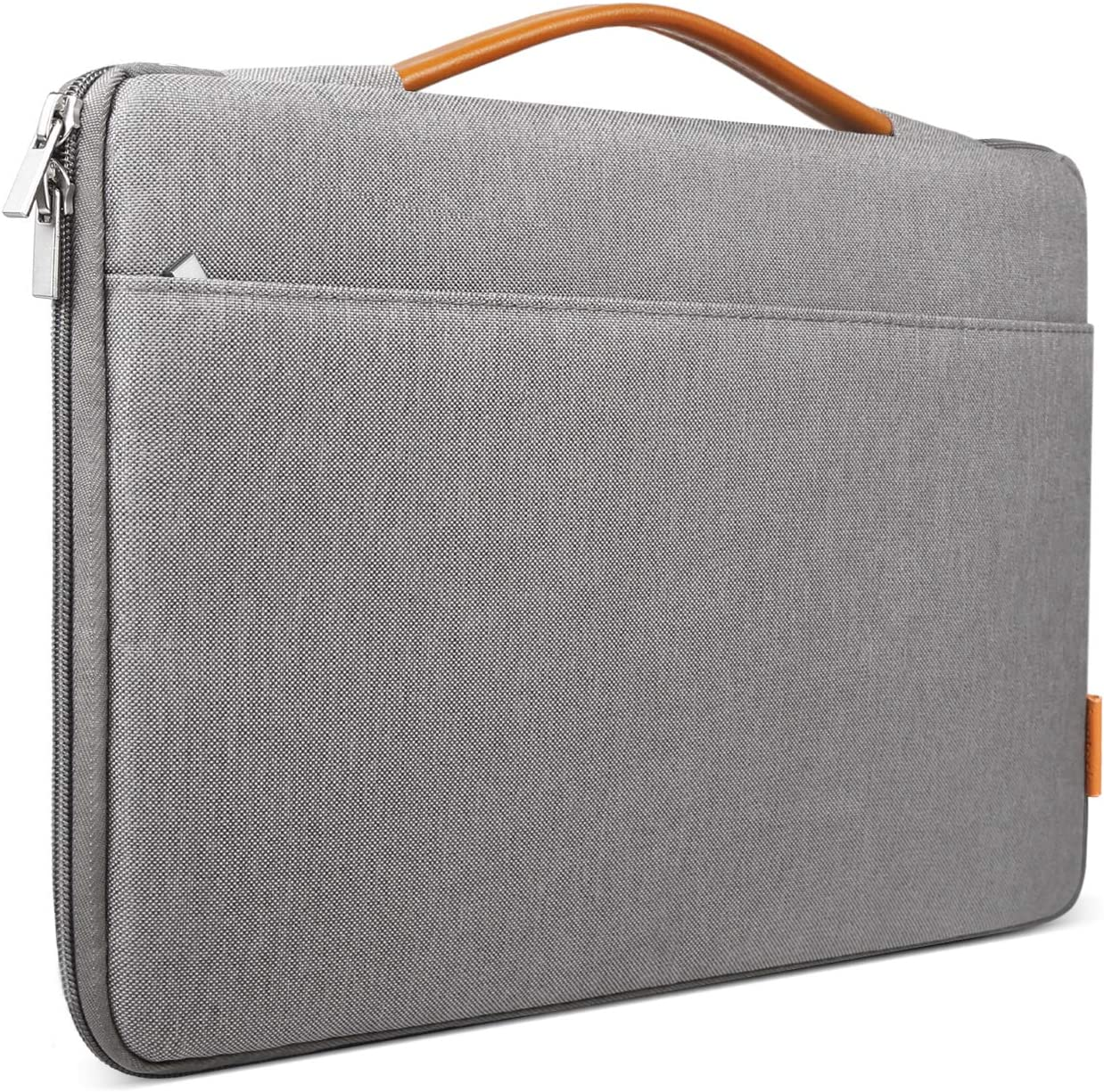 Inateck Laptop Sleeve Briefcase Bag Compatible 16 Inch MacBook Pro/15.4 Inch MacBook Pro 2013-2015/15 Inch MacBook 2019 2018 2017 2016/15 Inch Surface Book 2 - Dark Gray