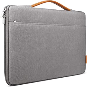 Inateck 14-14.1 Inch Laptop Sleeve Protective Bag Netbook Carrying Case Compatible 14 ThinkPad, 15'' MacBook Pro 2019/2018/2017/2016, Dell Inspiron, HP Chromebook 14, ASUS and More, Dark Gray