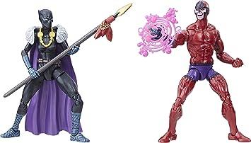 Marvel Legends Series 6-Inch Shuri & Marvels Klaw Figure 2-Pack ...