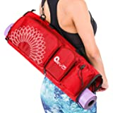 Yoga EVO Open end Yoga Mat Bag 5 Pockets - Fits any Mat Size | Available in 5 colors