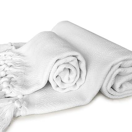 zestedesign baño y juego de toallas de mano (con a juego Classic blanco baño y