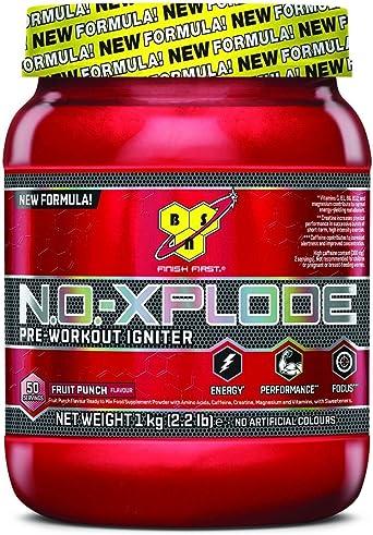 BSN No-Xplode 3.0 1 kg, la fórmula de pre-entrenamiento todo en uno más potente (sandía).