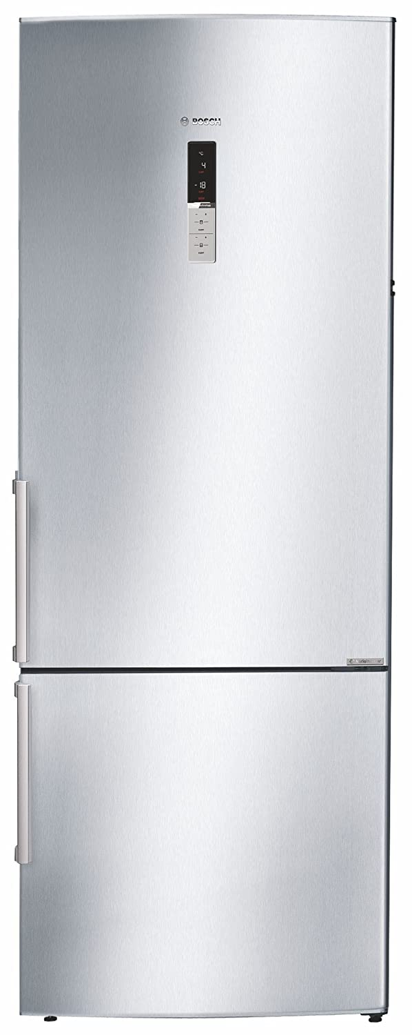 Bosch 505 L 2 Star   2019   Frost Free Double Door Refrigerator KGN57AI40I, Silver, Inverter Compressor, Bottom Freezer  Refrigerators
