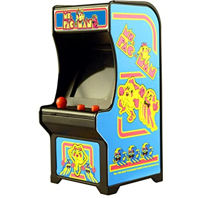 Tiny Arcade Ms. Pac-Man Miniature Arcade Game: Tiny Arcade: Toys & Games