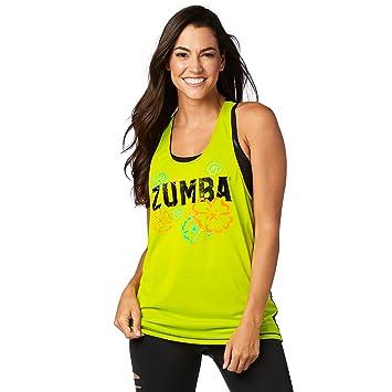 Zumba Fitness Z1t01345 Débardeur Femme  Amazon.fr  Sports et Loisirs 8e06f2da0a4