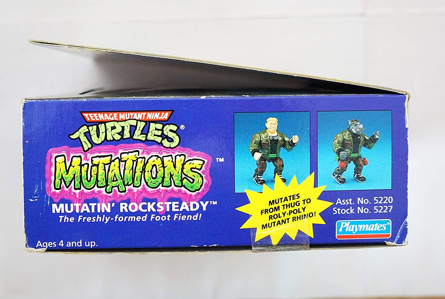 Teenage Mutant Ninja Turtles Mutatin Rocksteady - Tortugas ...