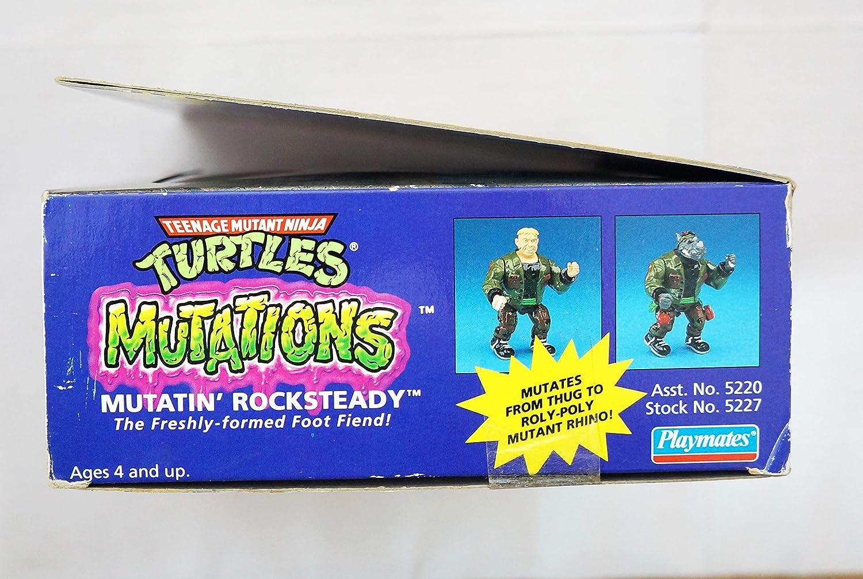 Teenage Mutant Ninja Turtles Mutatin Rocksteady - Tortugas ...