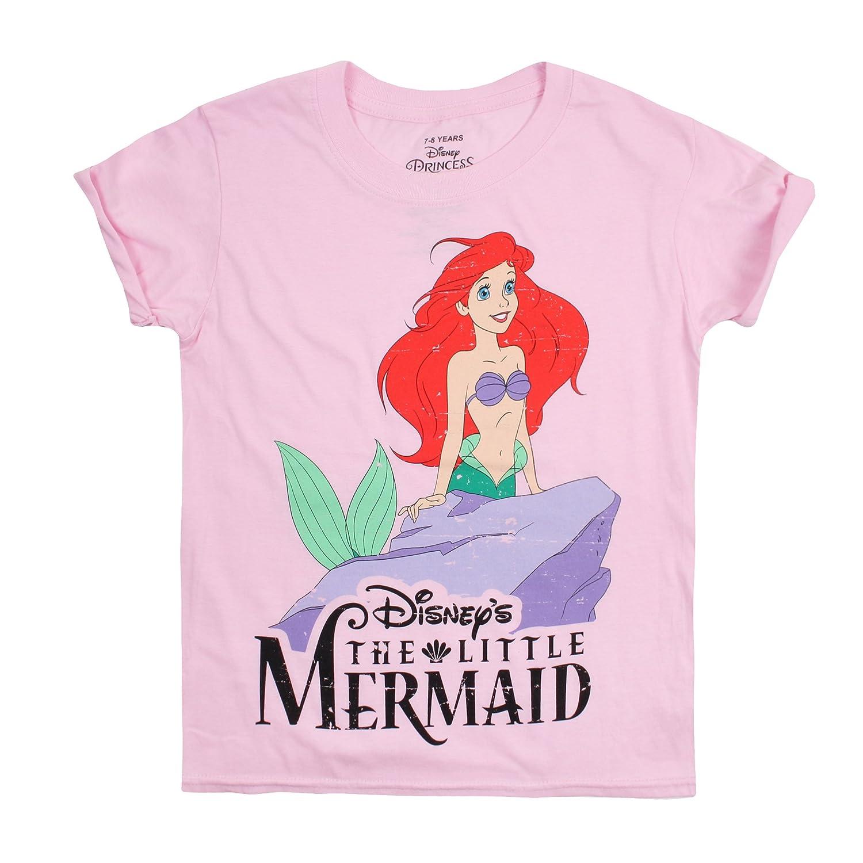 Disney Classic Camiseta, Rosa (Light Pink), 9-10 Años para Niñas ...