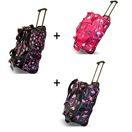 Maleta de viaje 3 unidades) Bolsa de viaje Set equipaje de mano 60 x 40