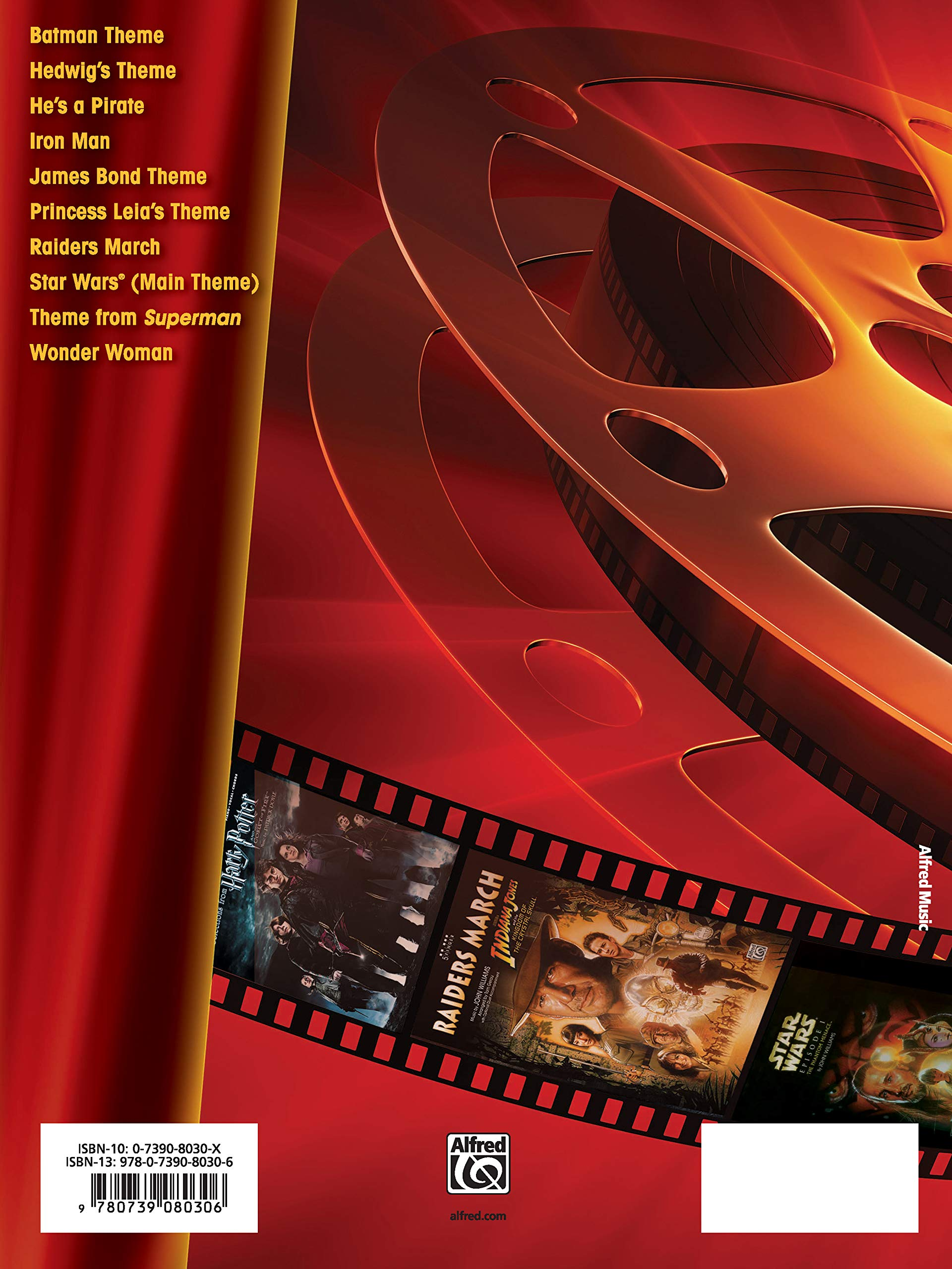 Movie Heroes for Students, Bk 2: 10 Graded Selections for