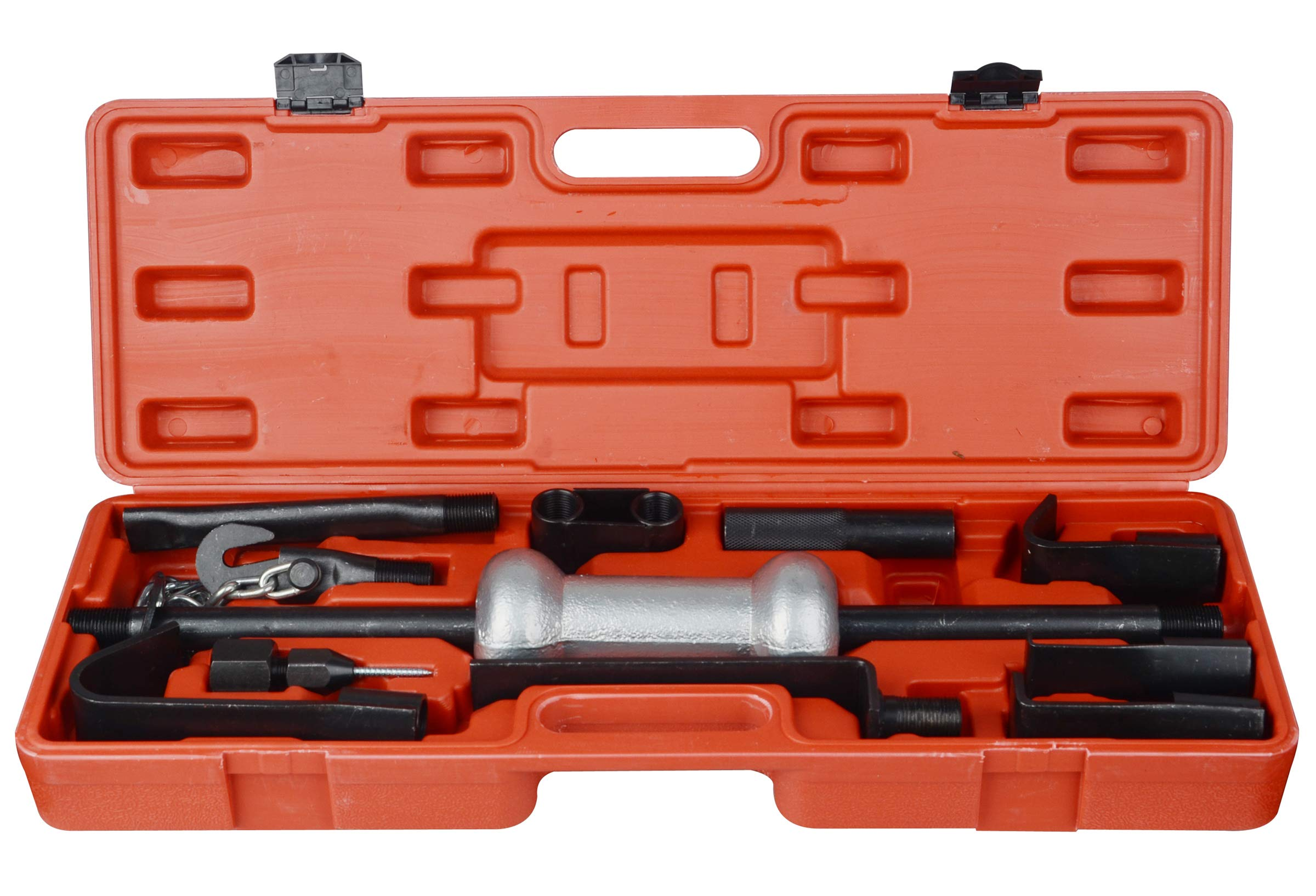 DA YUAN 13PC Dent Puller with Slide Hammer Auto Body Truck Repair Tool Kit Set