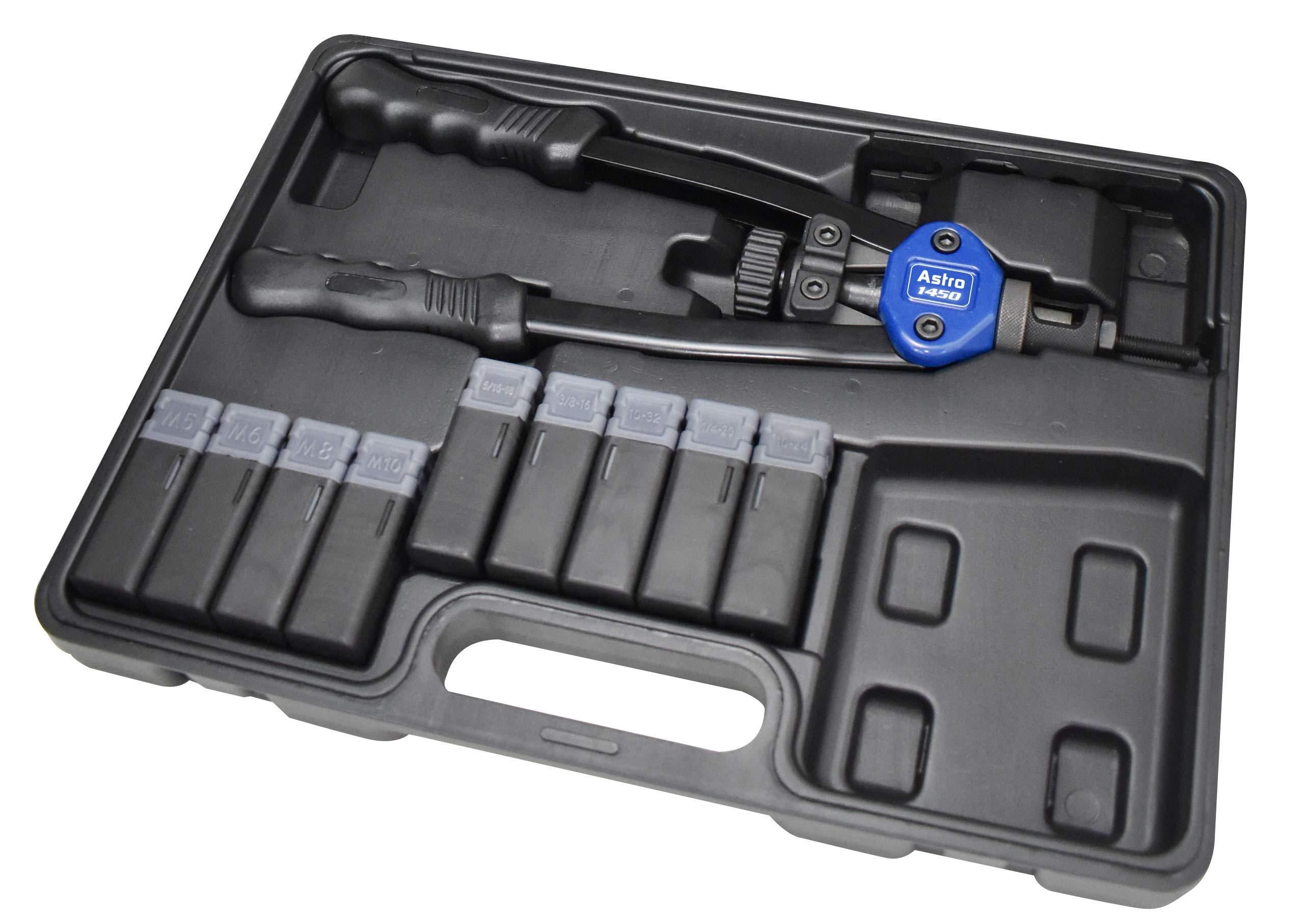 Astro Pneumatic Tool 1450 13'' Plusnut & Extra-Long Rivet Nut Setter Kit by Astro Pneumatic Tool (Image #2)