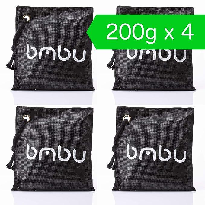 Amazon.com: Bmbu - Bolsa de desodorante de carbón de bambú ...