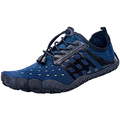 Amazon.com | Ansbowey Water Sport Shoes Mens Womens Quick-Dry Aqua Shoes Barefoot Shoes for Beach Swim Surfing Diving Walking Yoga | Water Shoes