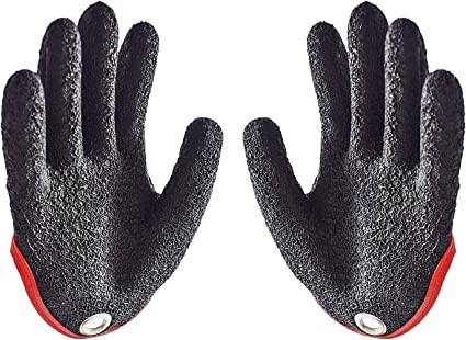 1Pcs Professional Fishing Glove Puncture Anti Anti Cut Gloves With Magnet Hooks