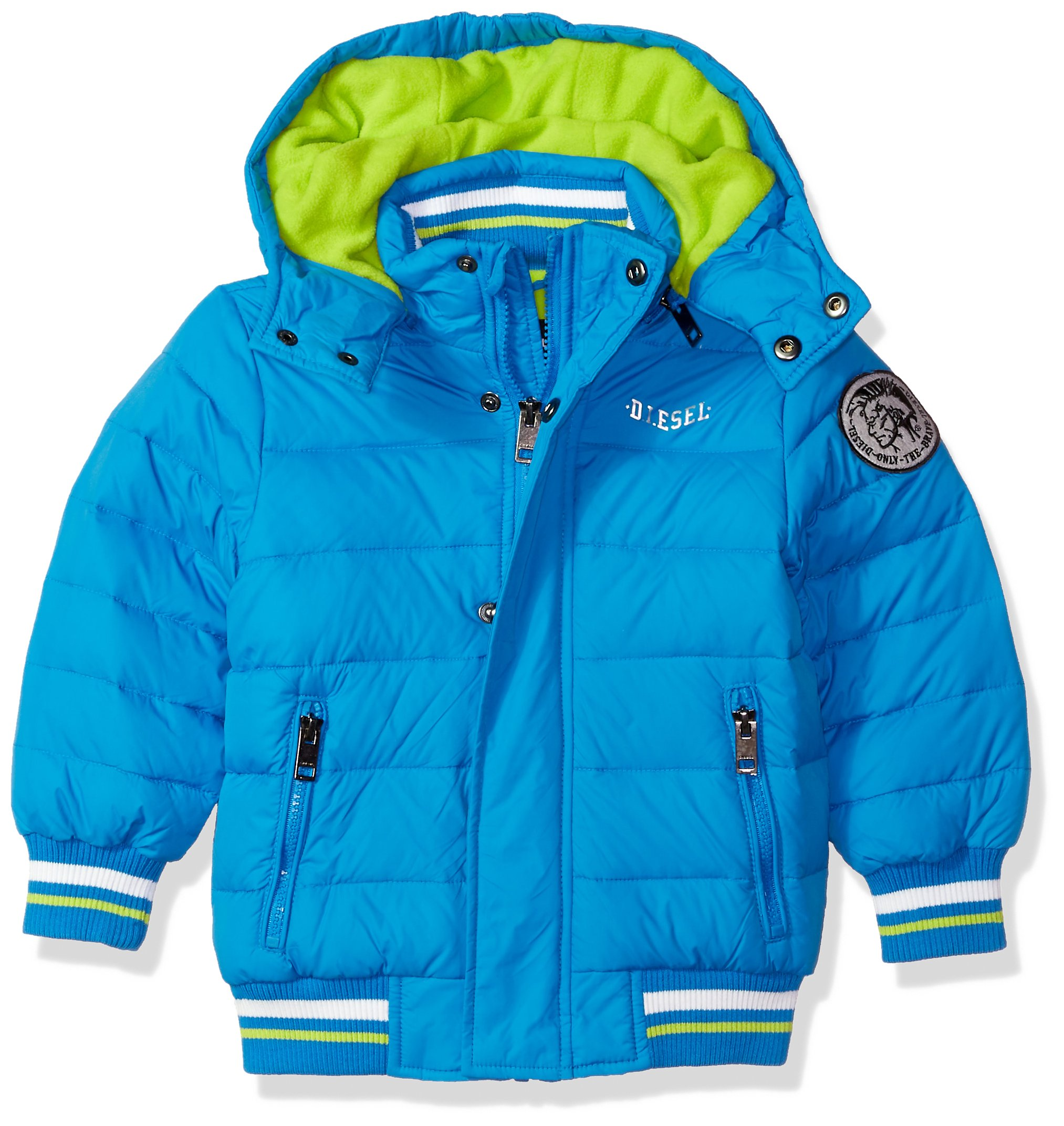 Diesel Toddler Boys' Outerwear Jacket (More Styles Available), Bubble/Blue, 4T by Diesel (Image #1)