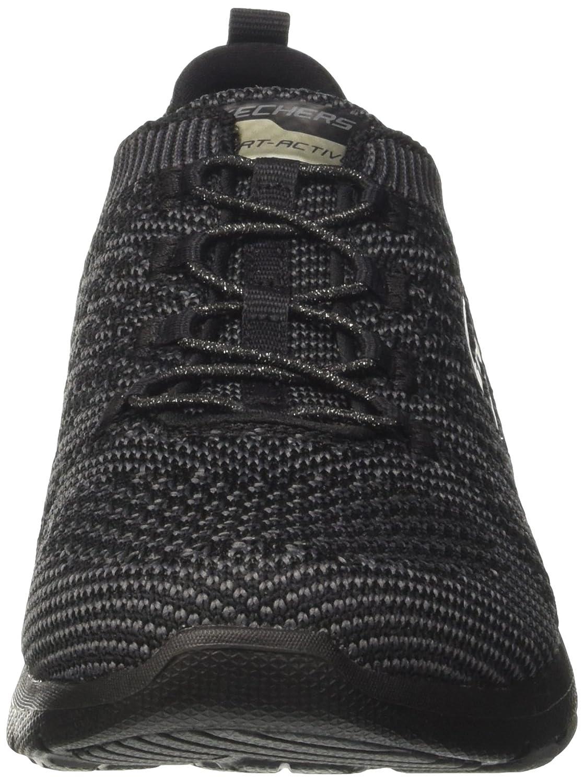 Skechers Sport Women's Galaxies Fashion Sneaker B01M1CCUX3 6 B(M) US Black