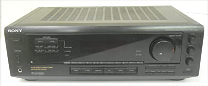 Sony STR-D350Z 5 Channel Amplifier AV Audio Video Surround System Receiver AM FM Tuner