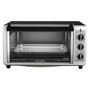 BLACK+DECKER TO3260XSBD Digital Extra-Wide Convection Oven, Stainless Steel