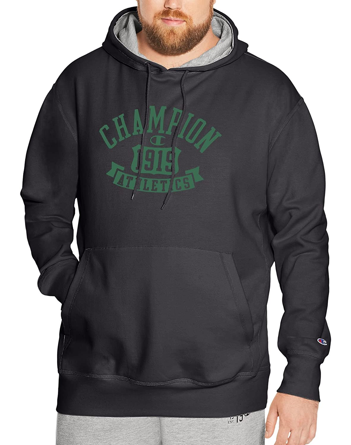 Champion Mens Big & Tall Heritage Fleece Hoodie CHB126