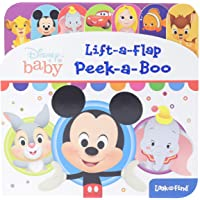 Disney Baby: Peek-A-Boo: Lift-A-Flap Look and Find