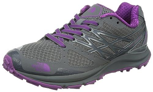f6123faabf72 The North Face Ultra Cardiac Trail Running Shoe - Women s Pache  Grey Byzantium Purple 6