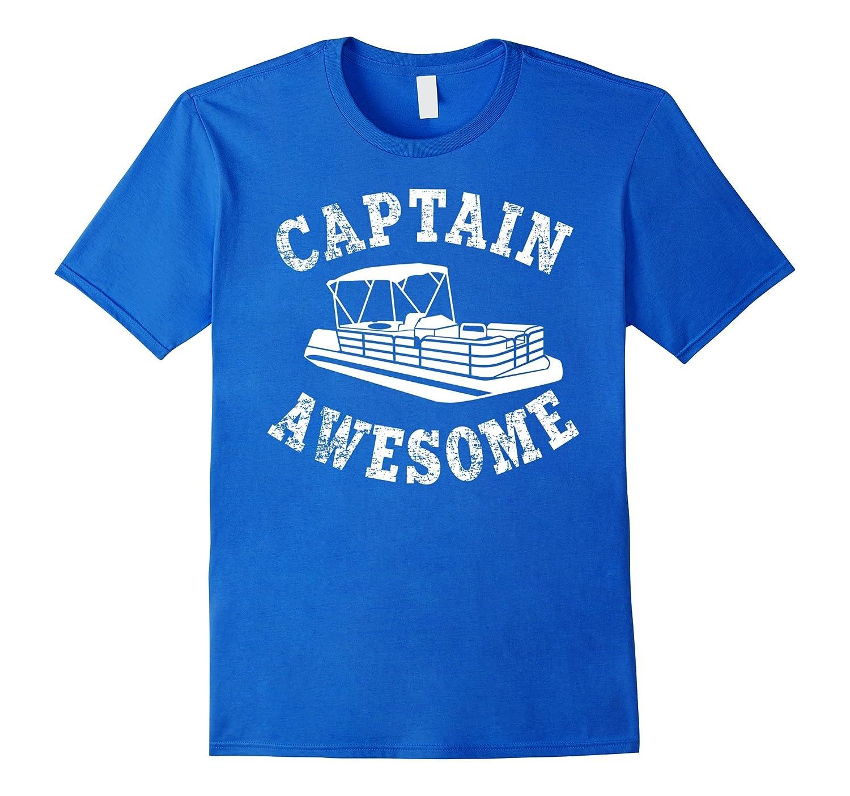 4ac833e1 Captain Awesome Shirt Funny Pontooning Boating T-Shirt-RT – Rateeshirt