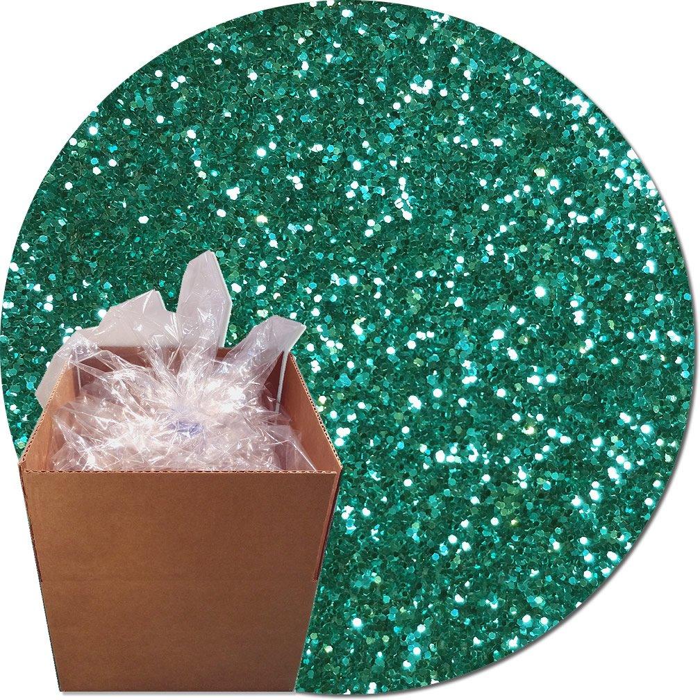 Glitter My World! Craft Glitter: 25lb Box: Aquamarine Dream