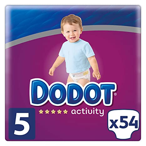 Dodot Activity Diapers Size 5 54 Nappies 11 16 Kg Amazon Co Uk