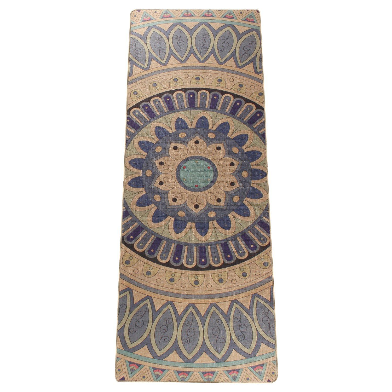 Amazon.com: Zeronal Mandala - Esterilla de yoga de lujo ...