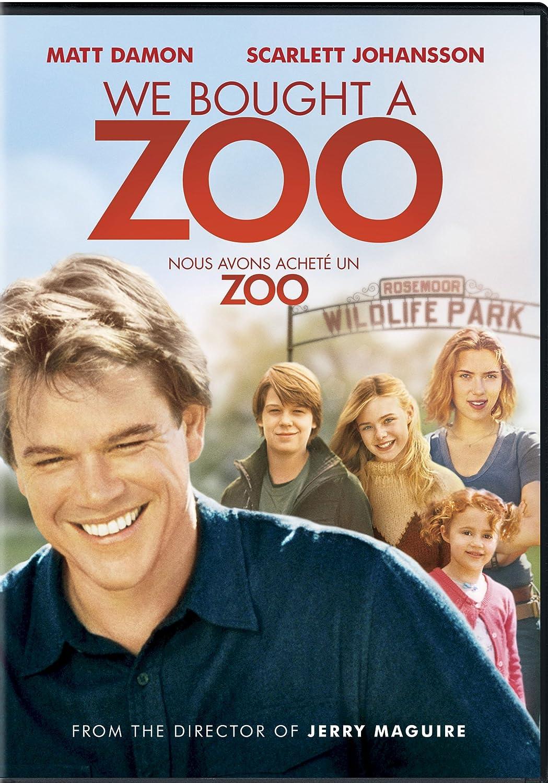 We Bought a Zoo (Bilingual) Matt Damon Comedy Drama Family