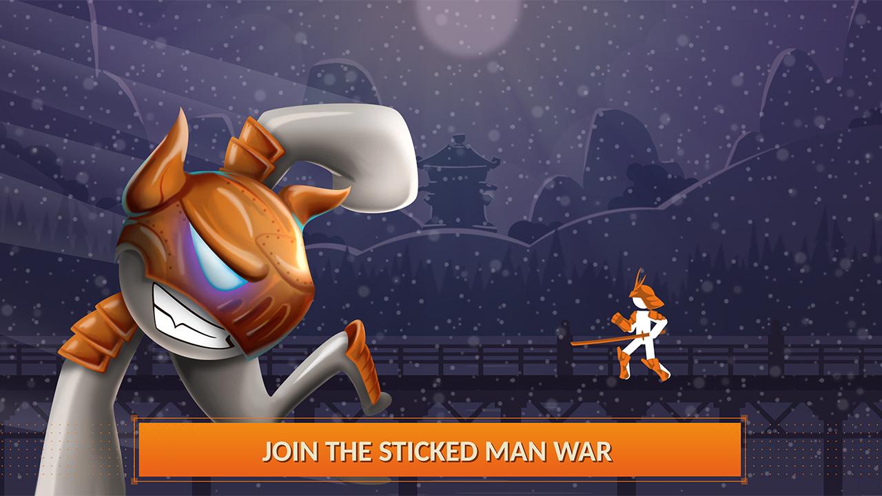 Ninja Fighting Sticky Man - Shadow War Rush: Amazon.es ...