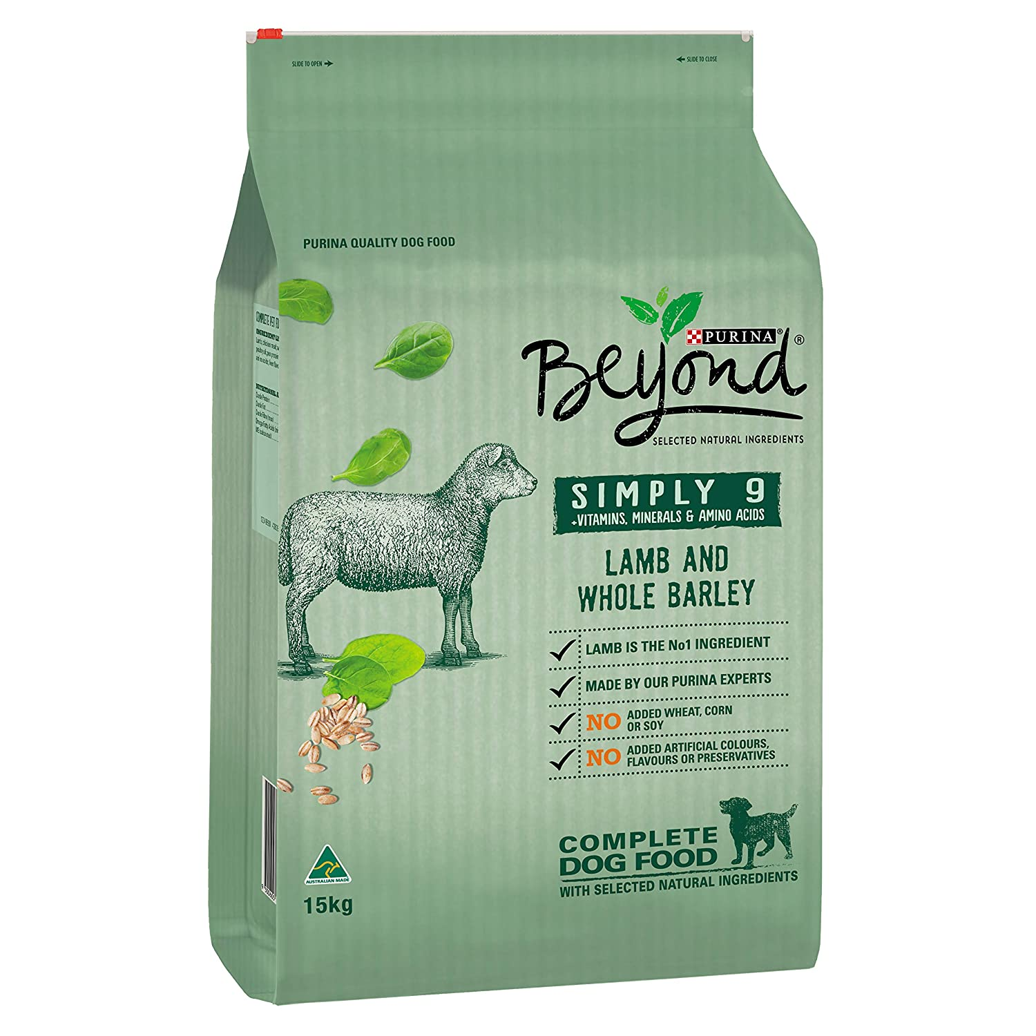 Beyond Simply 9 Lamb & Whole Barley, 15kg