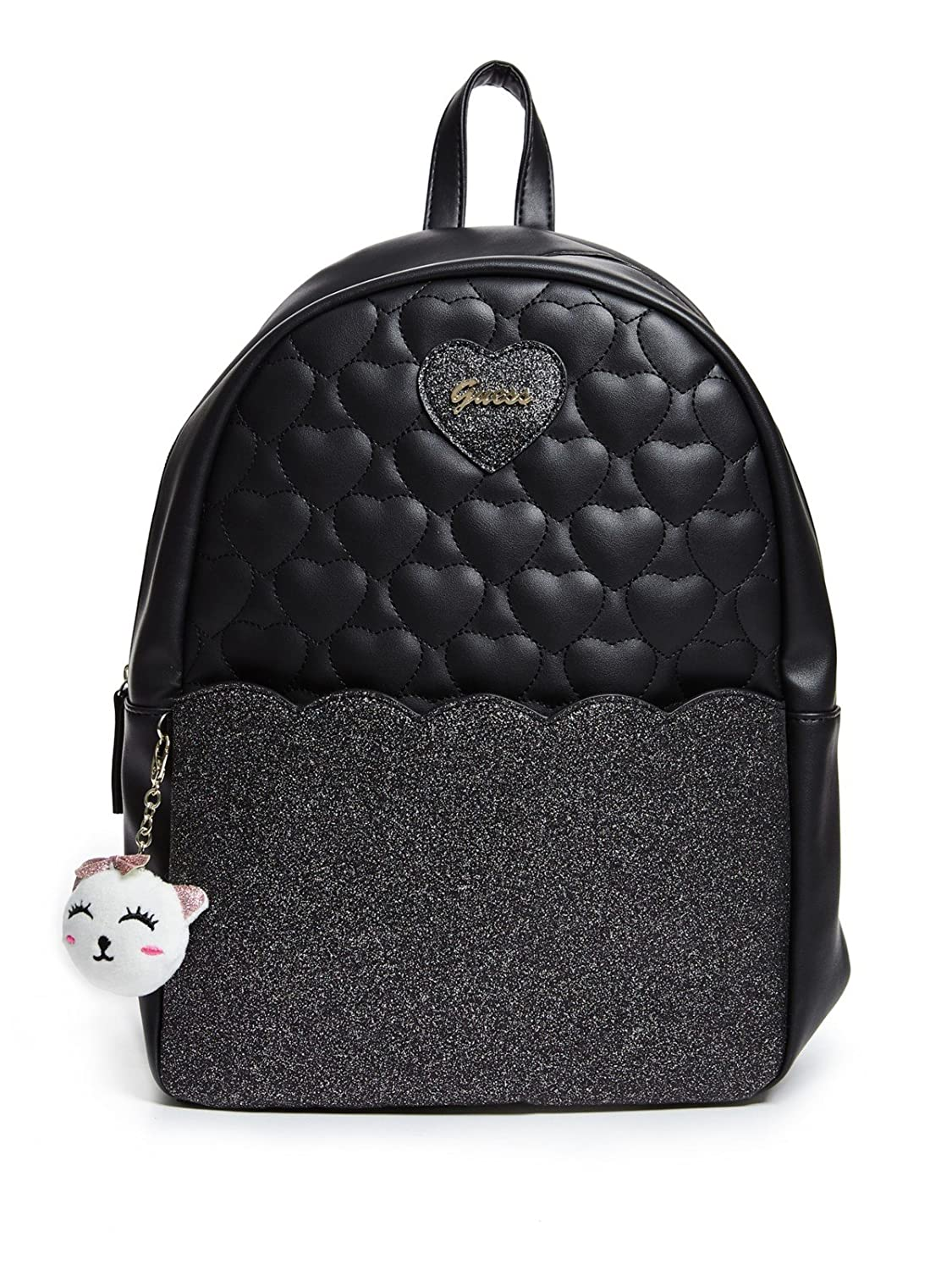 GUESS Factory Girl's Tulla Quilted Glitter Backpack GuessFactory