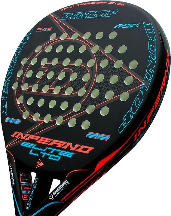 Dunlop Pala de pádel Inferno Elite LTD Blue: Amazon.es: Deportes y ...