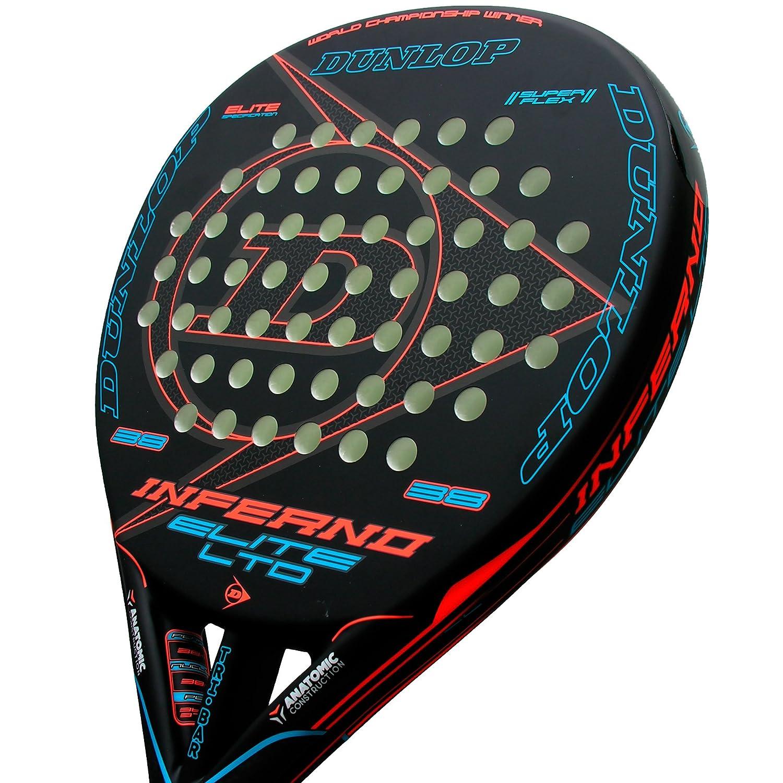 Pala de pádel Dunlop Inferno Elite LTD Blue: Amazon.es: Deportes y ...