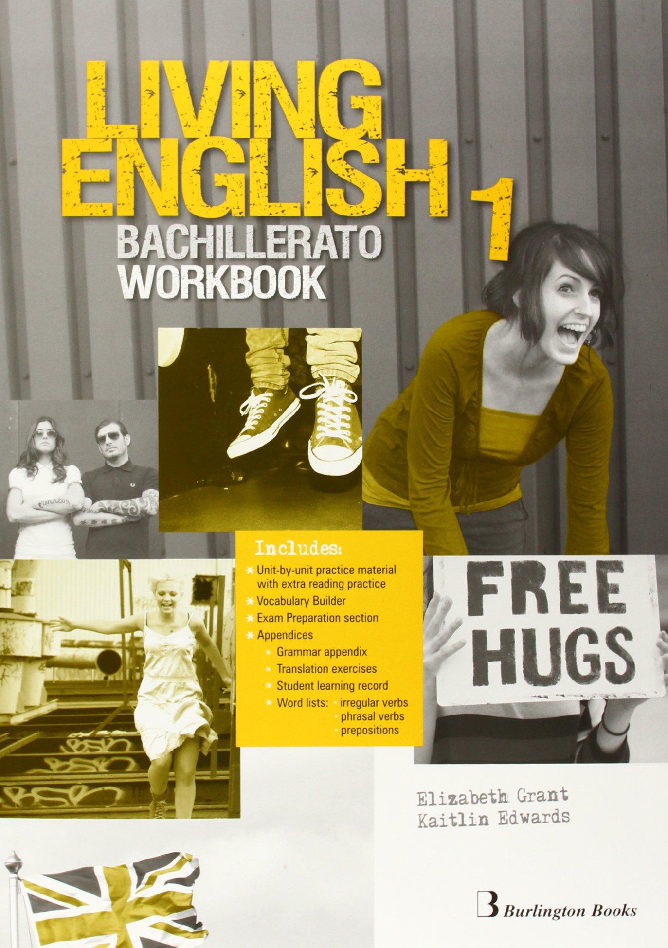 LIVING ENGLISH 1 WB.(2014) BCH 1 Tapa blanda – 2014 Vv.Aa. BURLINGTON 9963489885