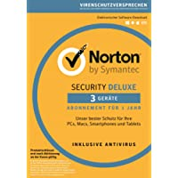 Norton Security Deluxe Sonderedition 2019 2+1 Geräte PC/Mac/Smartphone/Tablet Download