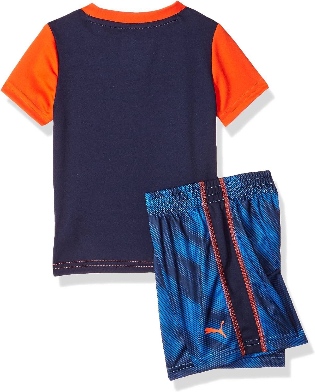 PUMA Baby-Boys Boys Davis 2 Piece Set Shorts Set