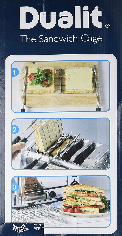Dualit 00499 Original Sandwichzange 1 St/ück und Combitoaster f/ür alle Vario