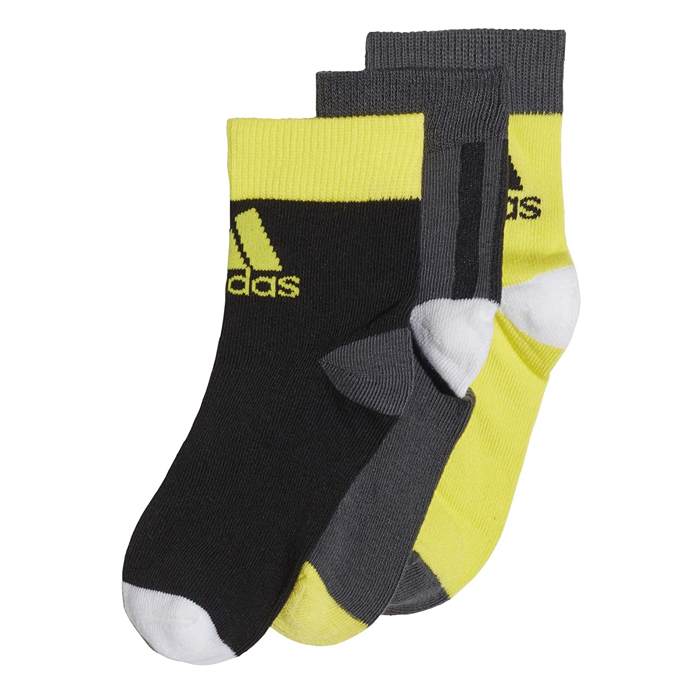 adidas LK Ankle S 3pp Calcetines, Unisex niños: Amazon.es ...