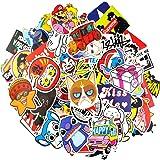 Paquete de Pegatinas 100-Pcs, Neuleben Vinilos adhesivos para vinilos para laptop, Niños, Coches, Motocicleta, Bicicleta,skateboard, Pegatinas de parachoques Pegatinas Hippie bomba Impermeable