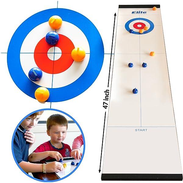 Elite Sportz Curling - Juegos de Mesa con la Familia - Juegos ...