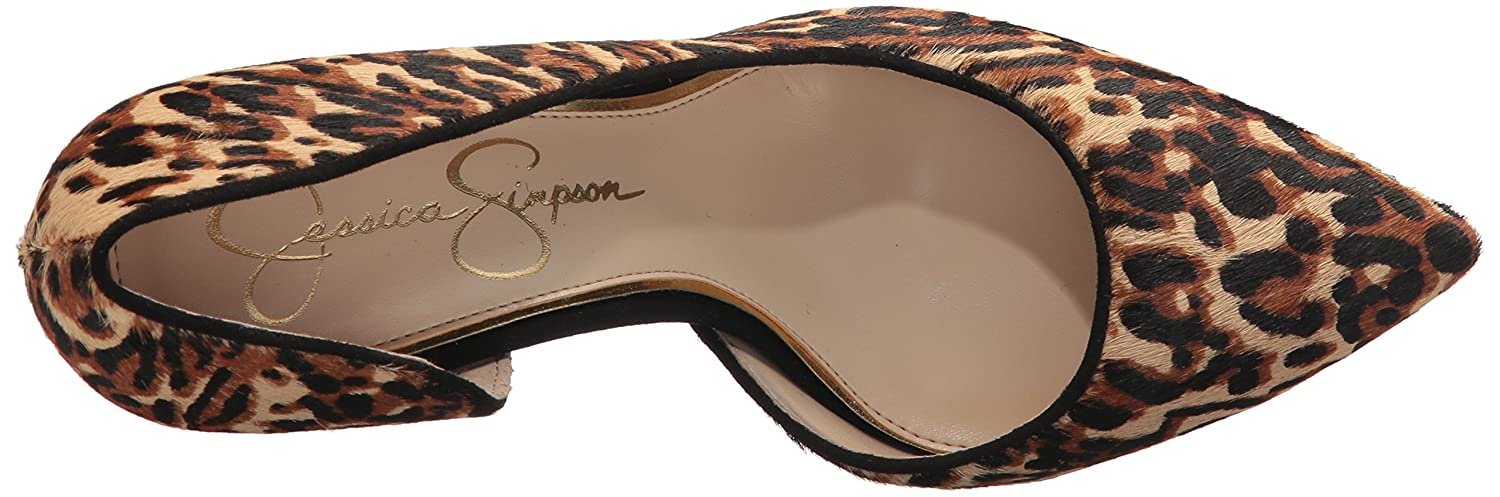Jessica Simpson Women's Lucina Pump B073X4526N 9 B(M) US|Natural