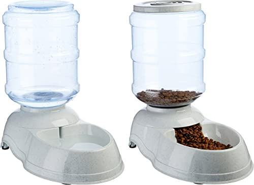 AmazonBasics-Gravity-Pet-Food-Feeder-and-Water-Dispensers