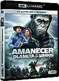 El Amanecer Del Planeta De Los Simios 4k Uhd [Blu-ray]