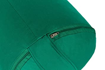 Yoga y Pilates Bolster Made in Germany, Verde