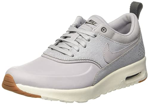 Nike WMNS Air Max Thea Premium Women's Genuine Leather Sneaker Gray 616723 013