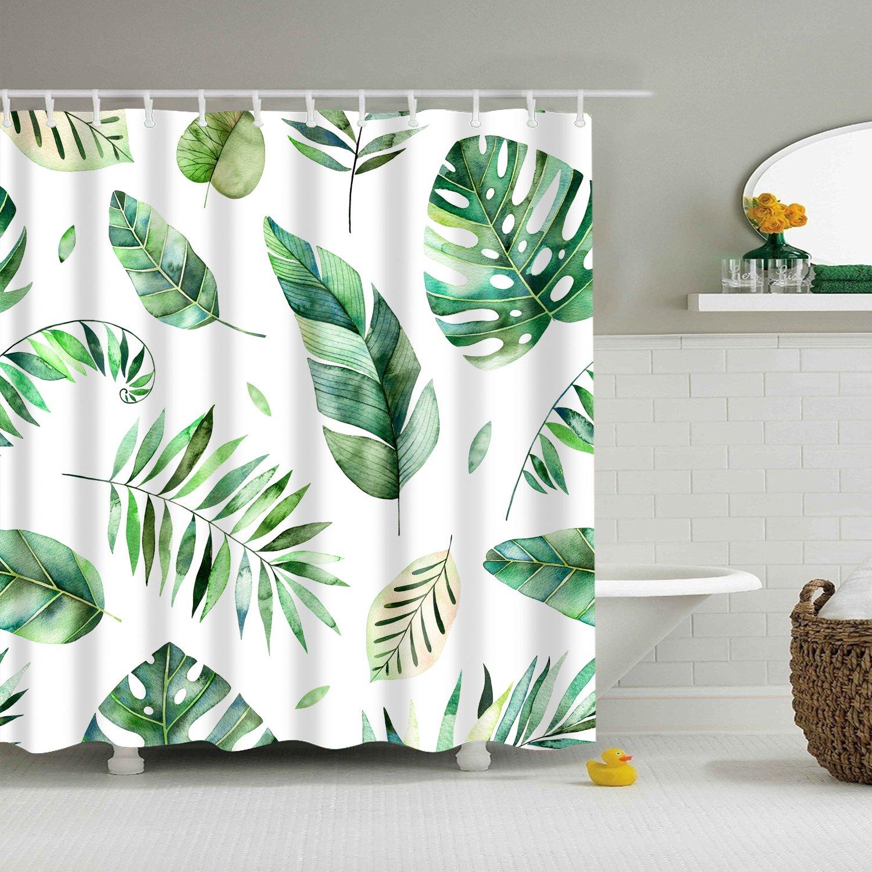 gwell antimoho para ducha cortina paisaje impresión digital ...
